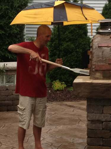 How To Build An Outdoor Brick Oven (103)