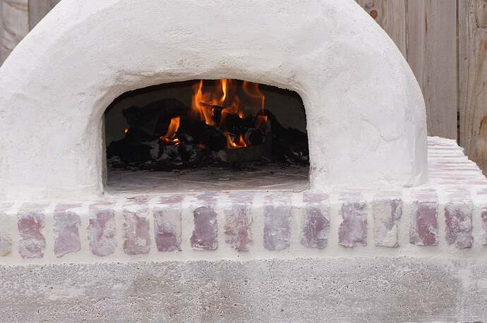 Refractory Cement Pizza Oven (121)