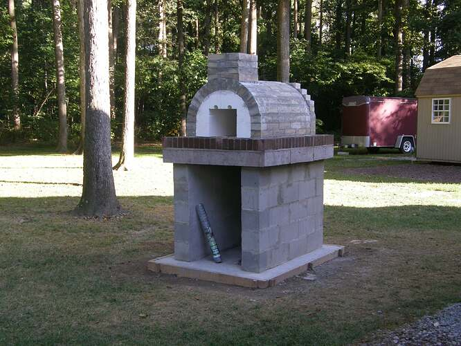 How To Make An Outdoor Pizza Oven (36)