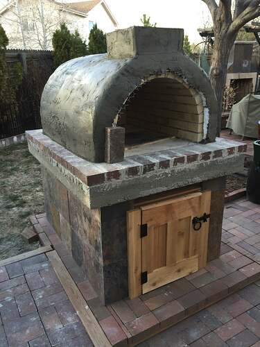 Homemade Outdoor Pizza Oven (34)
