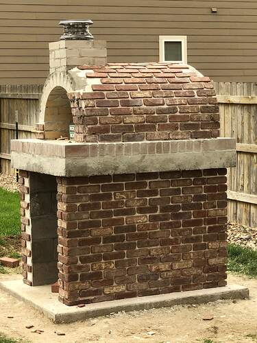 Building An Outdoor Wood Fired Oven (30)