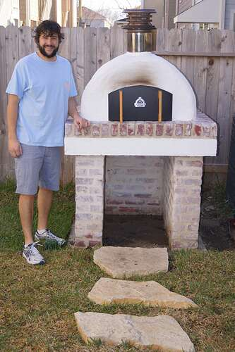Refractory Cement Pizza Oven (145)