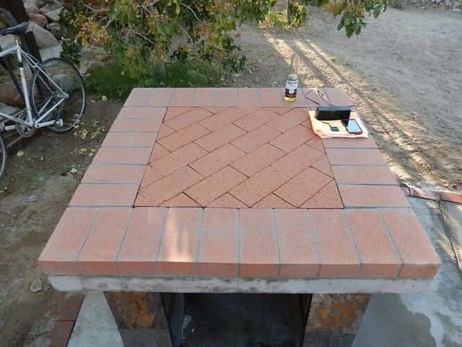 Build Your Own Brick Pizza Oven (15)