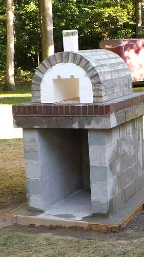 How To Make An Outdoor Pizza Oven (24)