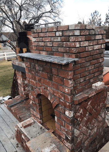 Pizza Oven Fireplace Combo (12)