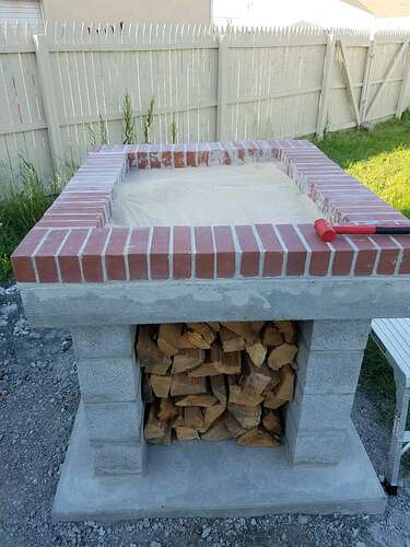 Making An Outdoor Oven (11)