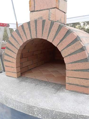 Building A Pizza Oven (149)