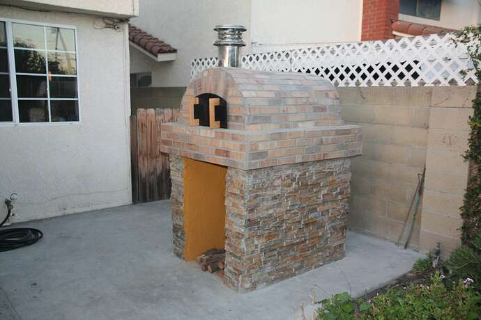 Outdoor Grill With Oven (37)