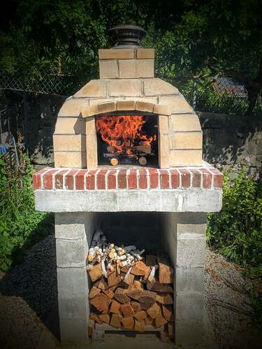 Garden Wood Fired Pizza Oven (66)