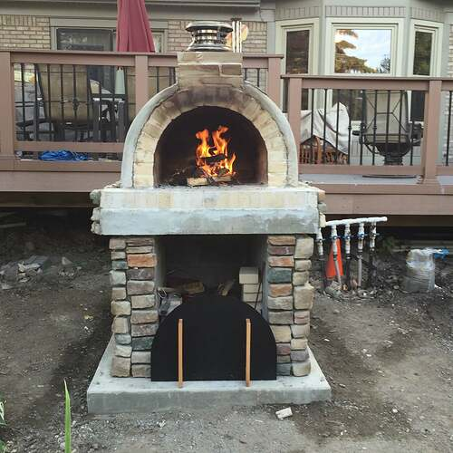 Simple Outdoor Oven (25)