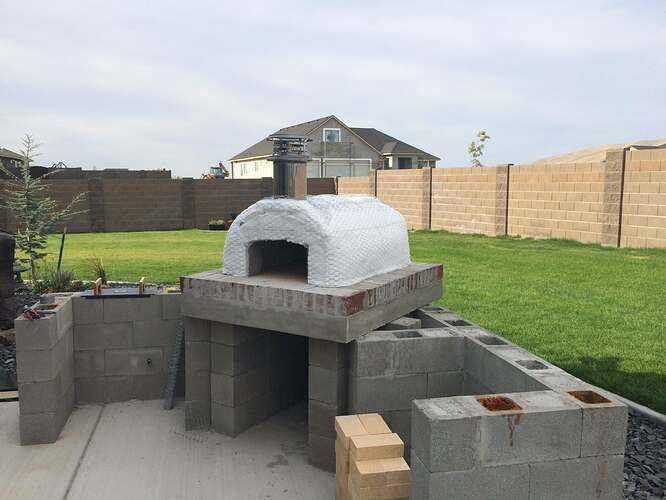 How To Build A Wood Fired Oven (23)