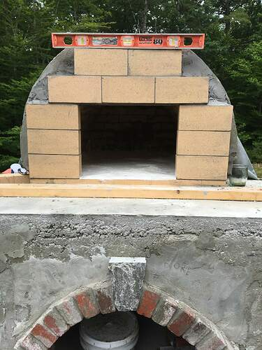 How To Build A Wood Fired Pizza Oven (57)