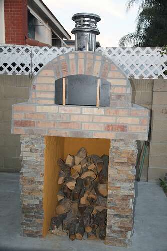 Outdoor Grill With Oven (39)