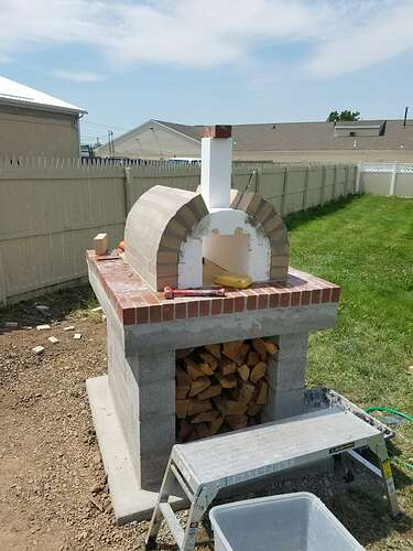 Making An Outdoor Oven (17)