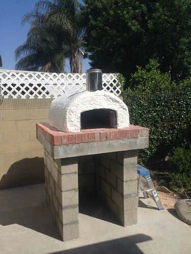 Outdoor Grill With Oven (26)