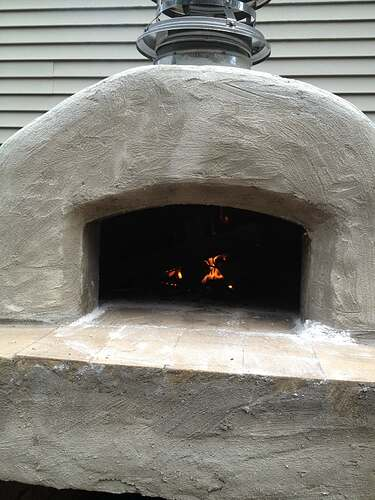 How To Build An Outdoor Brick Oven (78)