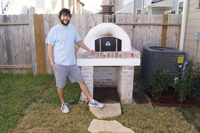 Refractory Cement Pizza Oven (142)