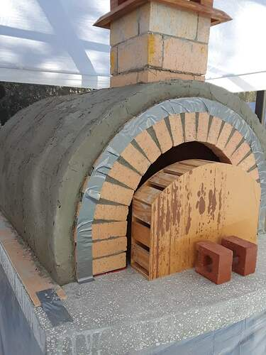 Building A Pizza Oven (166)