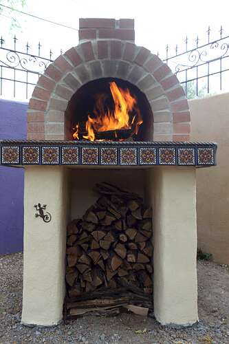 Building a Wood Fired Oven (6)
