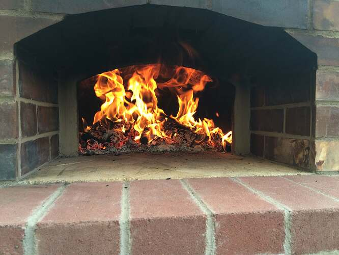 Home Made Pizza Oven (37)