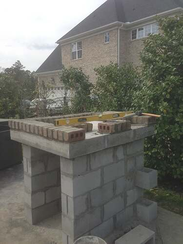 Build A BBQ And Pizza Oven (12)