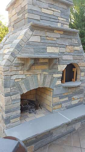 Outdoor Fireplace Plans (10)