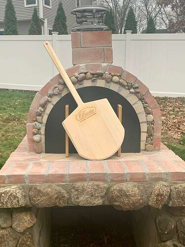 Homemade Wood Fired Pizza Oven (11)