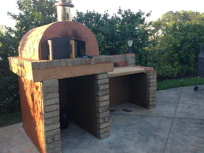 Build A BBQ And Pizza Oven (23)
