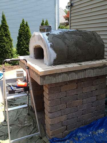 How To Build An Outdoor Brick Oven (72)