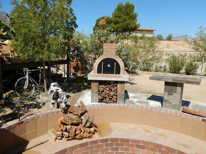 Build Your Own Brick Pizza Oven (28)
