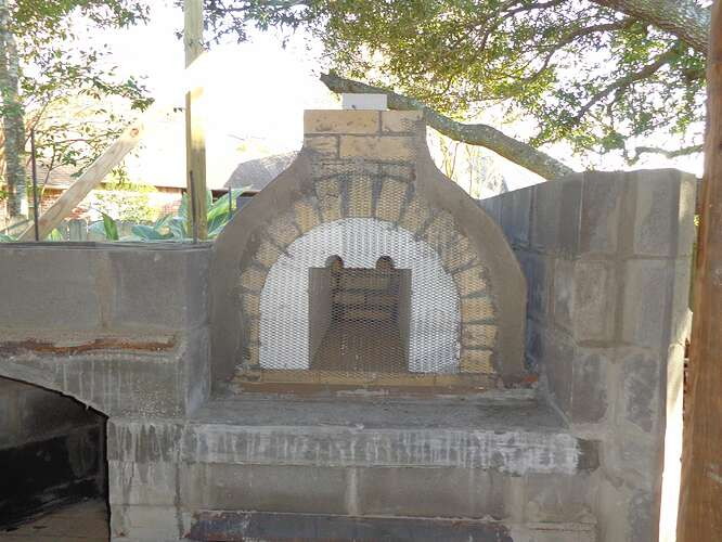 Outdoor Natural Stone Fireplace (8)