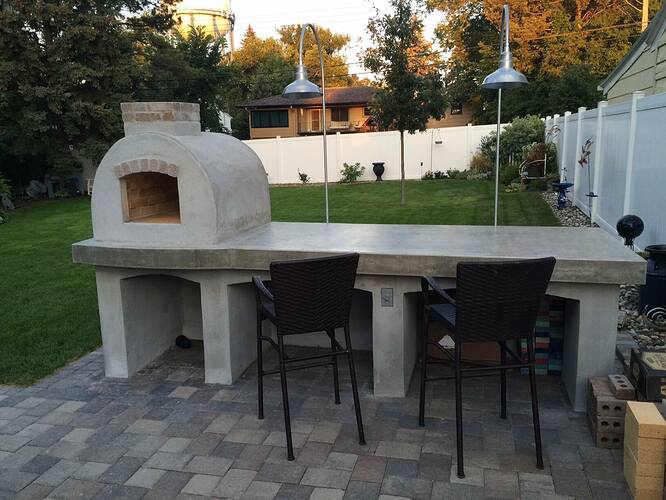 Building A Brick Pizza Oven From Scratch (54)
