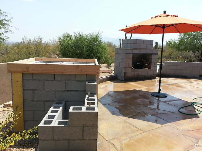 Outdoor Patio Fireplace (3)