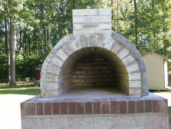 How To Make An Outdoor Pizza Oven (50)