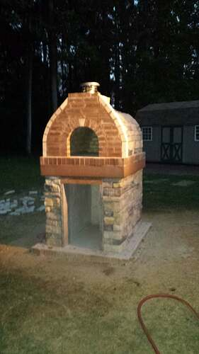 How To Make An Outdoor Pizza Oven (70)