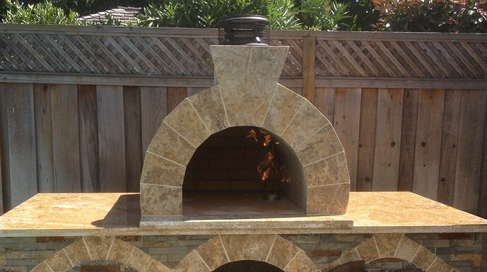 Outdoor Gas Pizza Oven