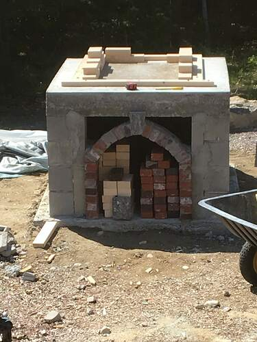 How To Build A Wood Fired Pizza Oven (33)