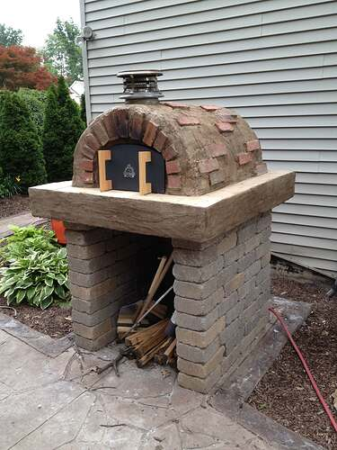 How To Build An Outdoor Brick Oven (89)