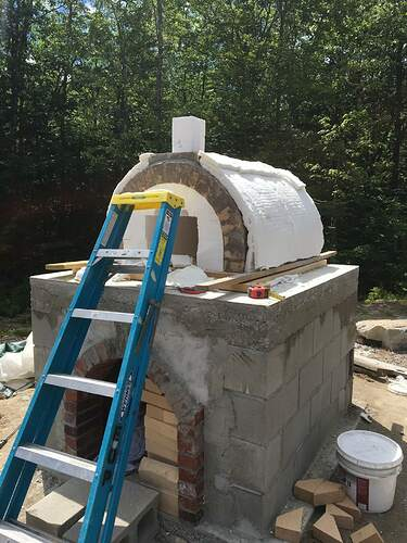 How To Build A Wood Fired Pizza Oven (48)