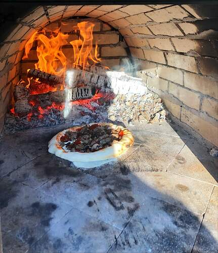 Large Outdoor Wood Burning Pizza Oven (27)