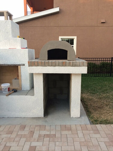 Outdoor Fireplace Pizza Oven Kits (11)