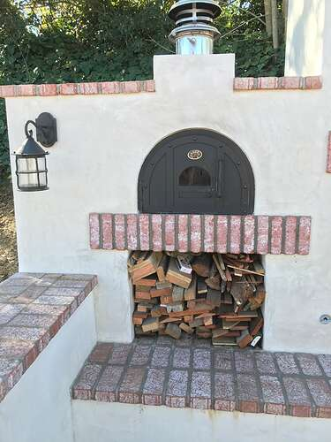 Pizza Oven and Fireplace (1)