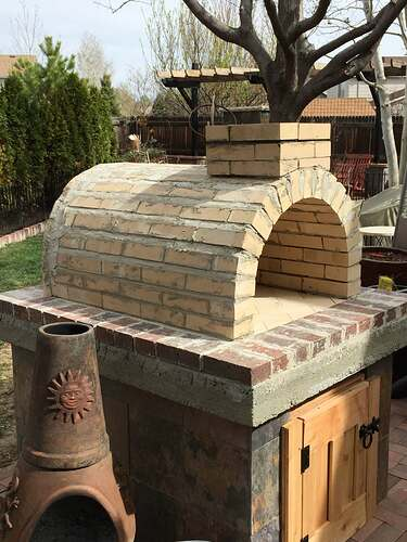 Homemade Outdoor Pizza Oven (32)