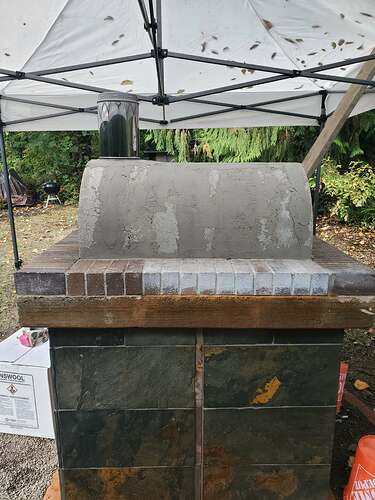 Outdoor Wood Burning Pizza Oven (16)