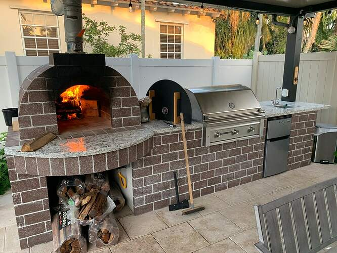 Combination Grill Smoker Pizza Oven (10)