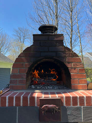 How To Make A Wood Fired Pizza Oven (40)