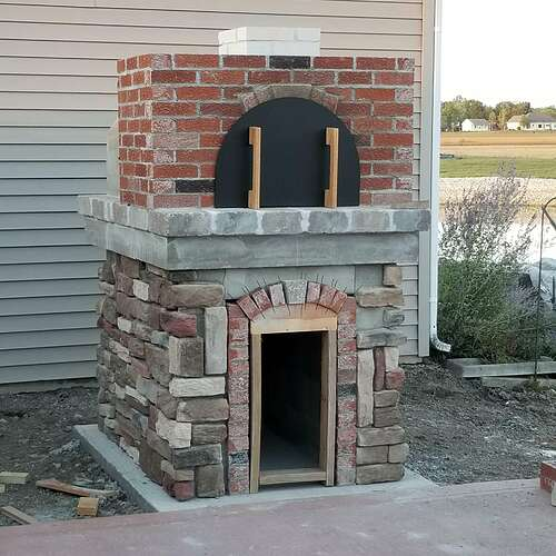 How To Make A Brick Oven (12)