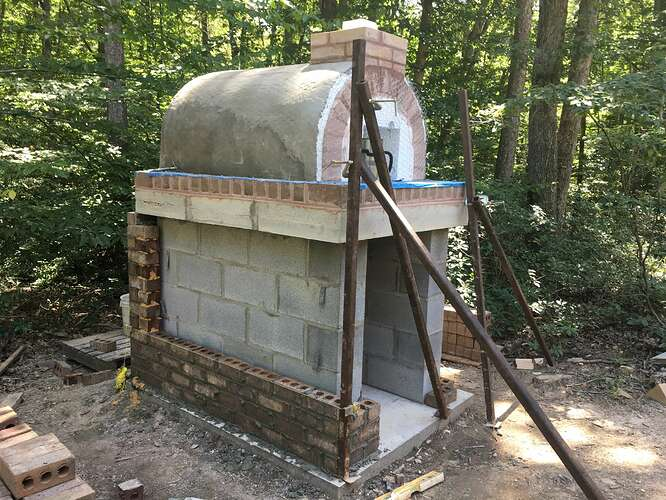 Wood Fired Brick Oven (65)