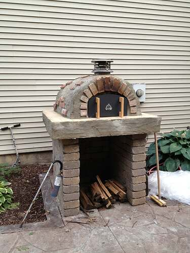 How To Build An Outdoor Brick Oven (88)