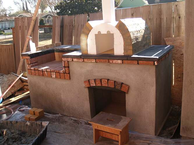 How To Build a Brick BBQ and Pizza Oven (12)